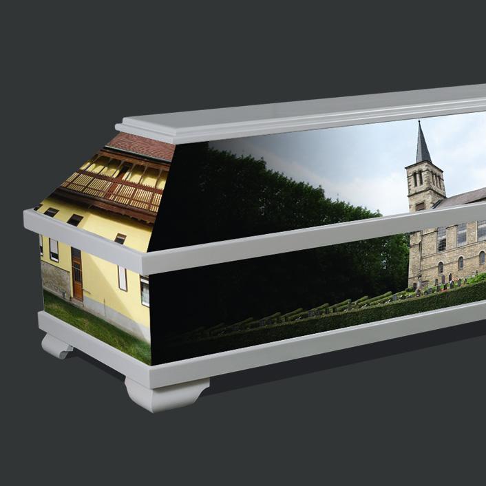 Individueller Sarg - Kirche