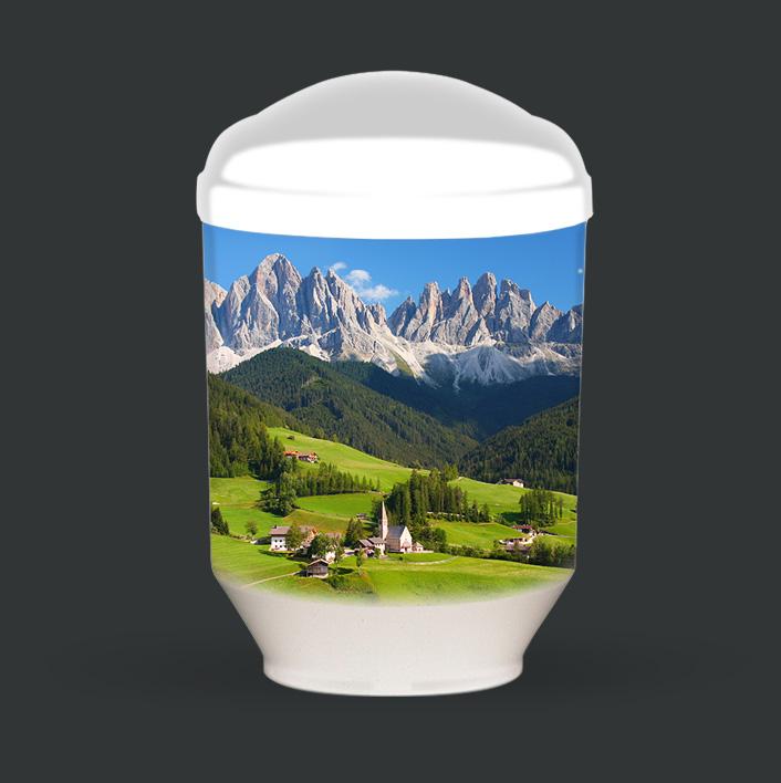 Individuelle Urne - Dolomiten
