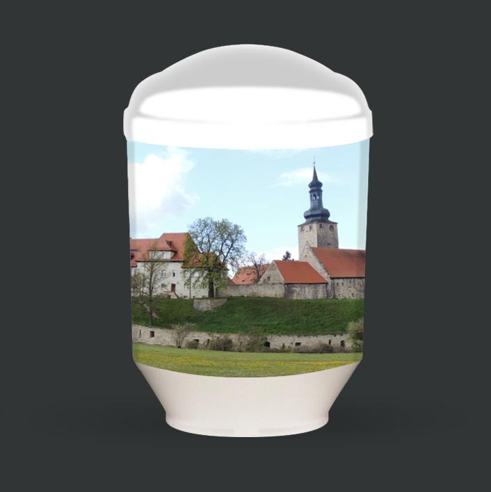 Individuelle Urne - Burg