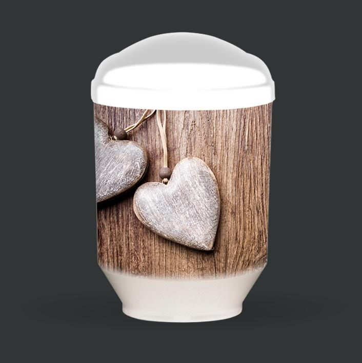 Individuelle Urne - Herzen