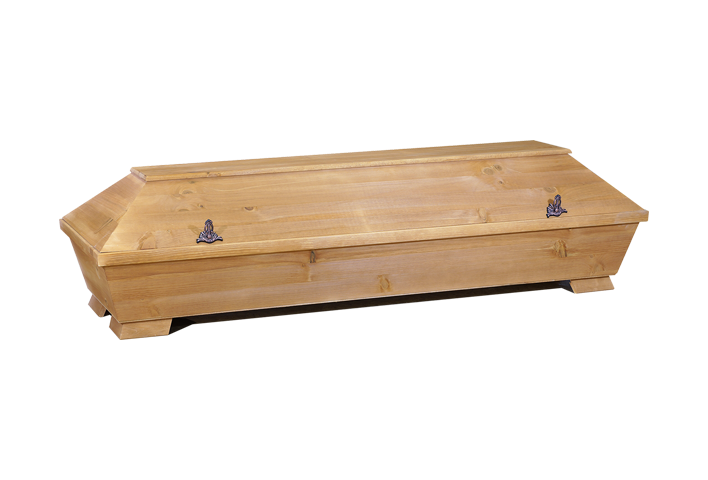 BEIZE – 1 M PAPPEL | Kremationssarg
