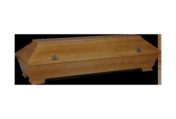 RUSTIKAL – 1 M PAPPEL | Kremationssarg