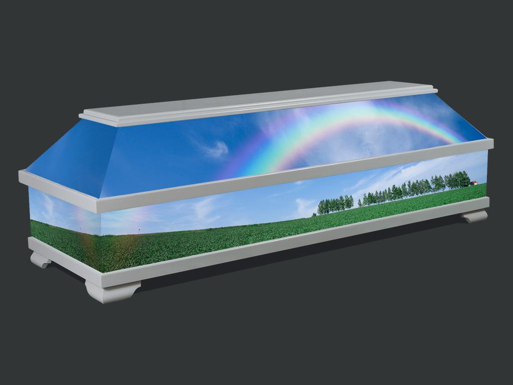 Abb. 6 – Individueller SELECT Sarg, Aust Bestattungsbedarf